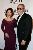 NEW YORK-JUNE 8: Singer Gloria Estefan (L) and husband Emilio Estefan attend American Theatre Wing's