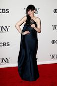 NEW YORK-JUNE 8: Actress Lena Hall poses in the press room at the American Theatre Wing's 68th Annua