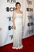 NEW YORK-JUNE 8: Actress Maggie Gyllenhaal attends American Theatre Wing's 68th Annual Tony Awards at Radio City Music Hall on June 8, 2014 in New York City.