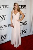 NEW YORK-JUNE 8: Actress Kelli O'Hara attends American Theatre Wing's 68th Annual Tony Awards at Rad