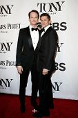 NEW YORK-JUNE 8: Actor Neil Patrick Harris (L) and David Burtka attend American Theatre Wing's 68th