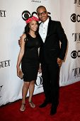NEW YORK-JUNE 8: Rapper T.I. and daughter Deyjah Imani Harris attend American Theatre Wing's 68th An