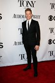 NEW YORK-JUNE 8: Actor Barrett Foa attends American Theatre Wing's 68th Annual Tony Awards at Radio