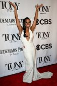 NEW YORK-JUNE 8: Actress Krystal Joy Brown attends American Theatre Wing's 68th Annual Tony Awards a