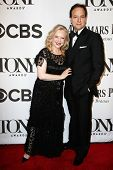 NEW YORK-JUNE 8: Director Susan Stroman and guest attend American Theatre Wing's 68th Annual Tony Aw