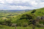 Edale in Derbyshire England UK