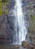 waterfall. Polynesia. Tahiti