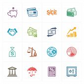 Finance Icons - Colored Series