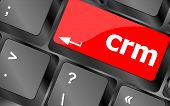 Crm Keyboard Keys (button) On Computer Pc