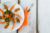 Gnocchi Chard Pumpkin Timbale