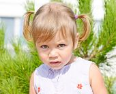 Portrait Of Toddler Girl