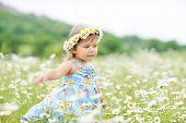 Dancing Toddler Girl