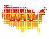 Map Of Usa 2015