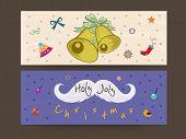 Website header or banner for Merry Christmas celebrations.