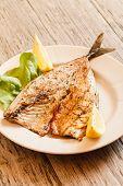 roasted mackerel