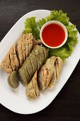 Vietnamese Sausage Pork With Sauce