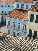 View Of Pelourinho. Salvador Da Bahia. Brazil