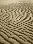 Sand Beach Background In Sepia Tone