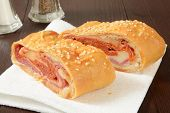 Italian Bread Roll Sandwich