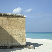 Stone Beach Wall