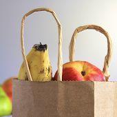 Fruit in a Brown Bag