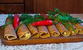 pancakes rolls