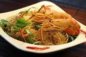pic of glass noodles  - Thai food - JPG