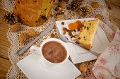 Panettone With Hot Chocolate