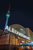 Alexanderplatz Square In Berlin, Germany