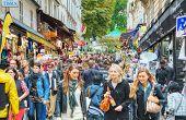 Rue De Steinkerque On Montmartre Hill In Paris, France