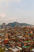 View Of Namsan Tower And Seoul City, South Korea