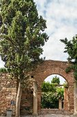 Alcazaba Of Malaga, Spain