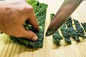 Sliced Savoy Cabbage