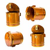 set of casks