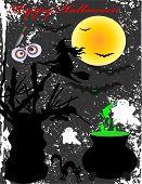 foto of happy halloween  - Happy Halloween Poster - JPG