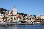 Pegli beach of Genoa