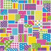 birthday presents pattern