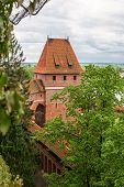 Gdanisko - One Of The Towers Of A Medieval Castle. Malbork. Poland
