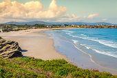 Playa De Las Catedrales - Beautiful Beach In The North Of Spain.
