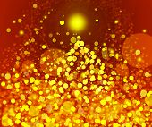 Gold Festive Christmas Background. Elegant Abstract Background