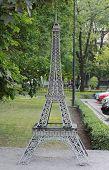 Eiffel tower in miniature, Donetsk