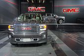 Gmc Trucks On Display On Display