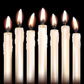 Seven White Candles