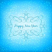 Vector Merry Christmas and Happy New Year background