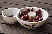 Bowl Of Tasty Kalamata Olives