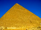 The Great Pyramid at Giza, Cairo, Egypt.
