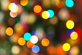 Abstract blurred photography bokeh - holiday background