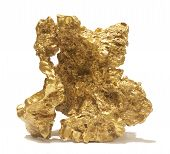 image of gold nugget  - Giant gold nugget - JPG