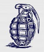 pic of grenades  - Hand grenade - JPG