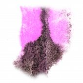 picture of insults  - Abstract watercolor pink - JPG